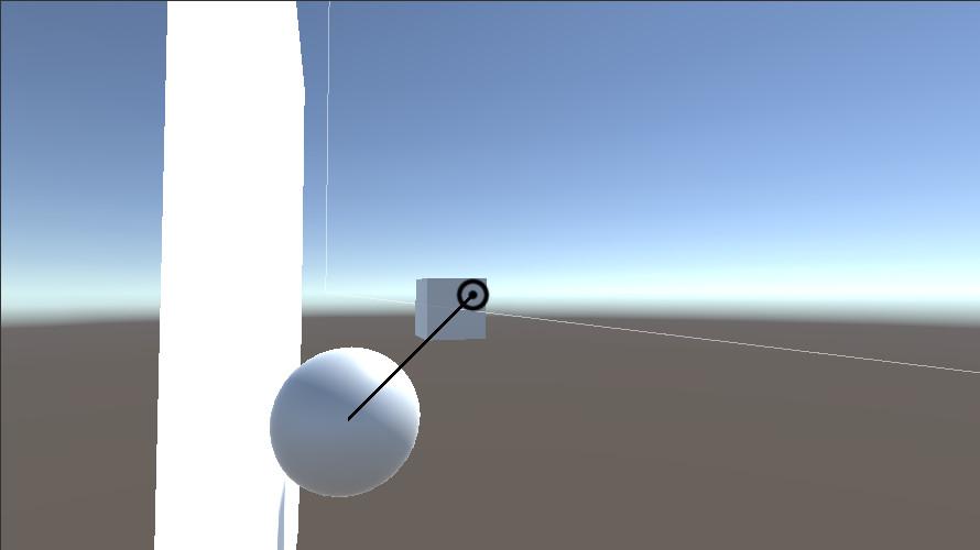 軌道予測線をUIに描画
