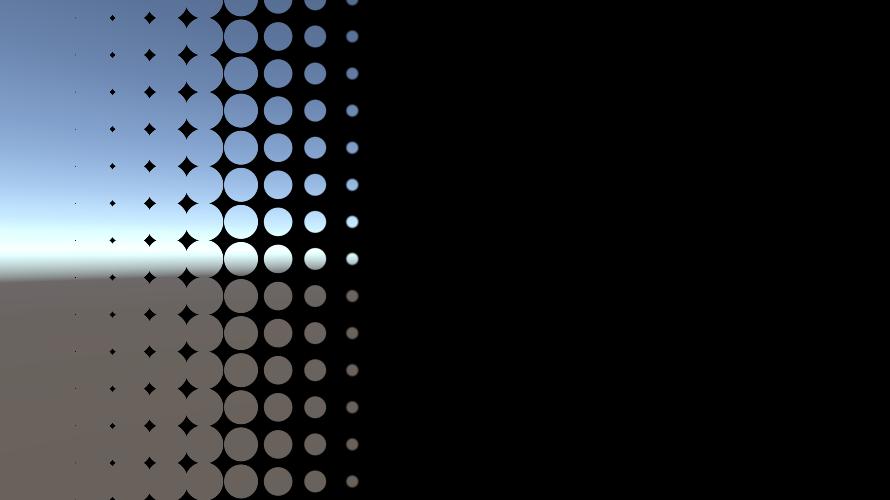 シェーダでトランジション(図形)