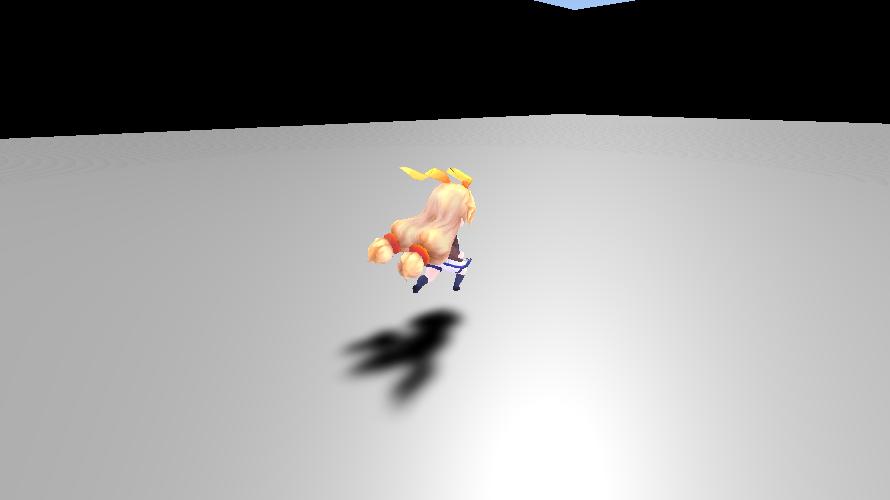 キャラクターの移動(Input.GetAxisRaw)