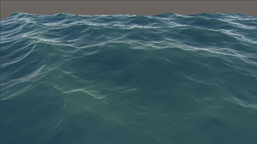 海洋シェーダ(海の色)