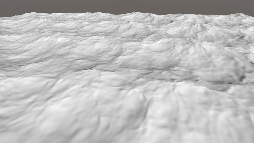海洋シェーダ(波の形)