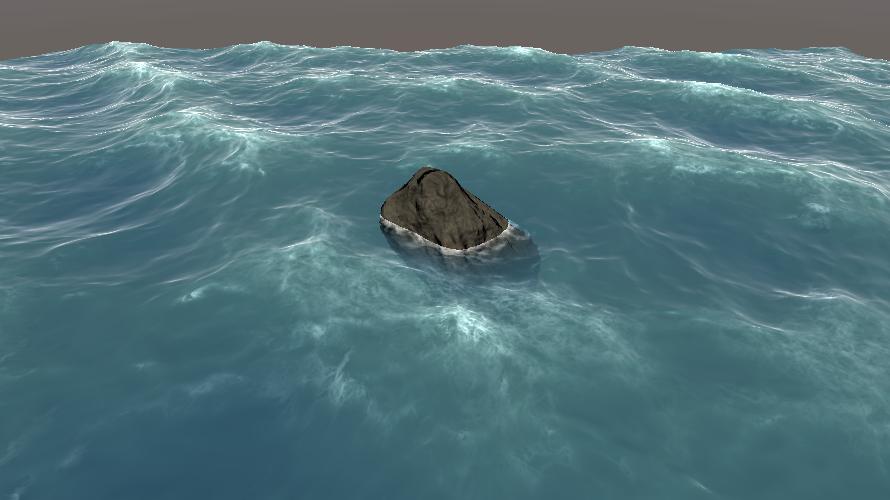 海洋シェーダ(泡)